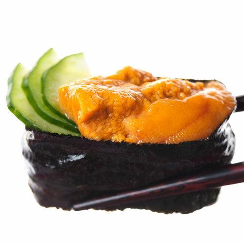 北海道產★新鮮海膽-壽司用100g/盒(此為預購商品,預訂後通知到貨日期) 0