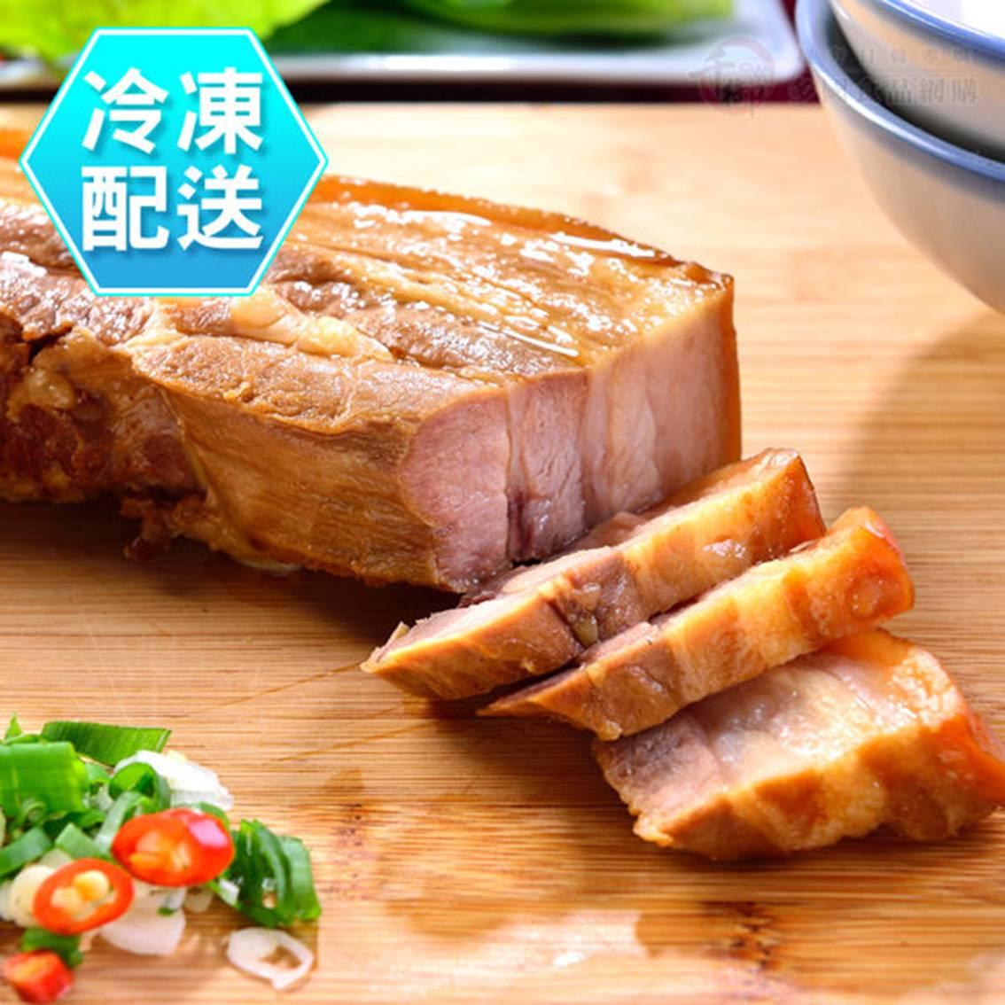 樂活生活館  蔗香三層肉400g 冷凍配送   蔗雞王【樂活生活館】