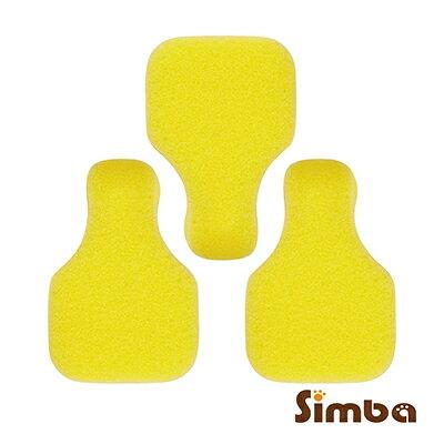 台灣【Simba 小獅王】極細海綿奶嘴刷替換包(3入)(奶嘴刷S1426適用)