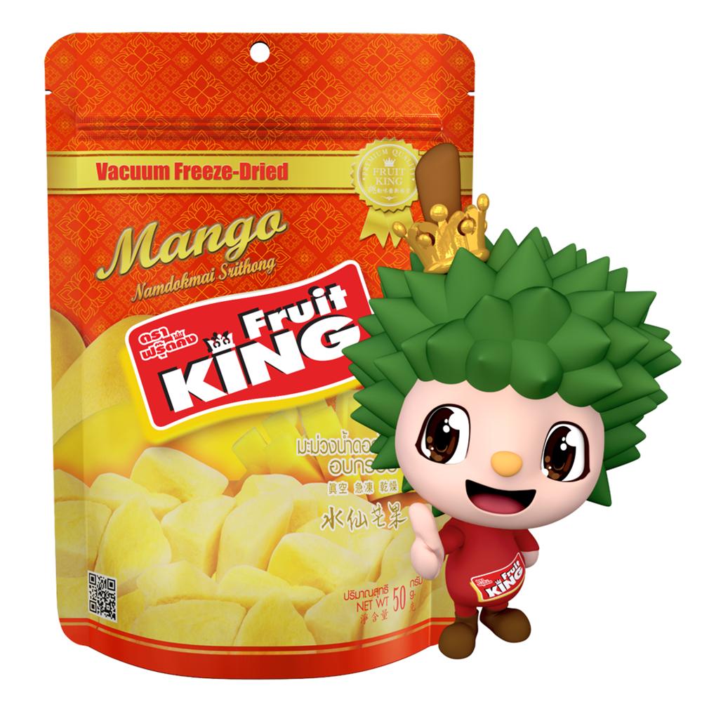 【Fruit King鮮果乾】水仙芒果50g