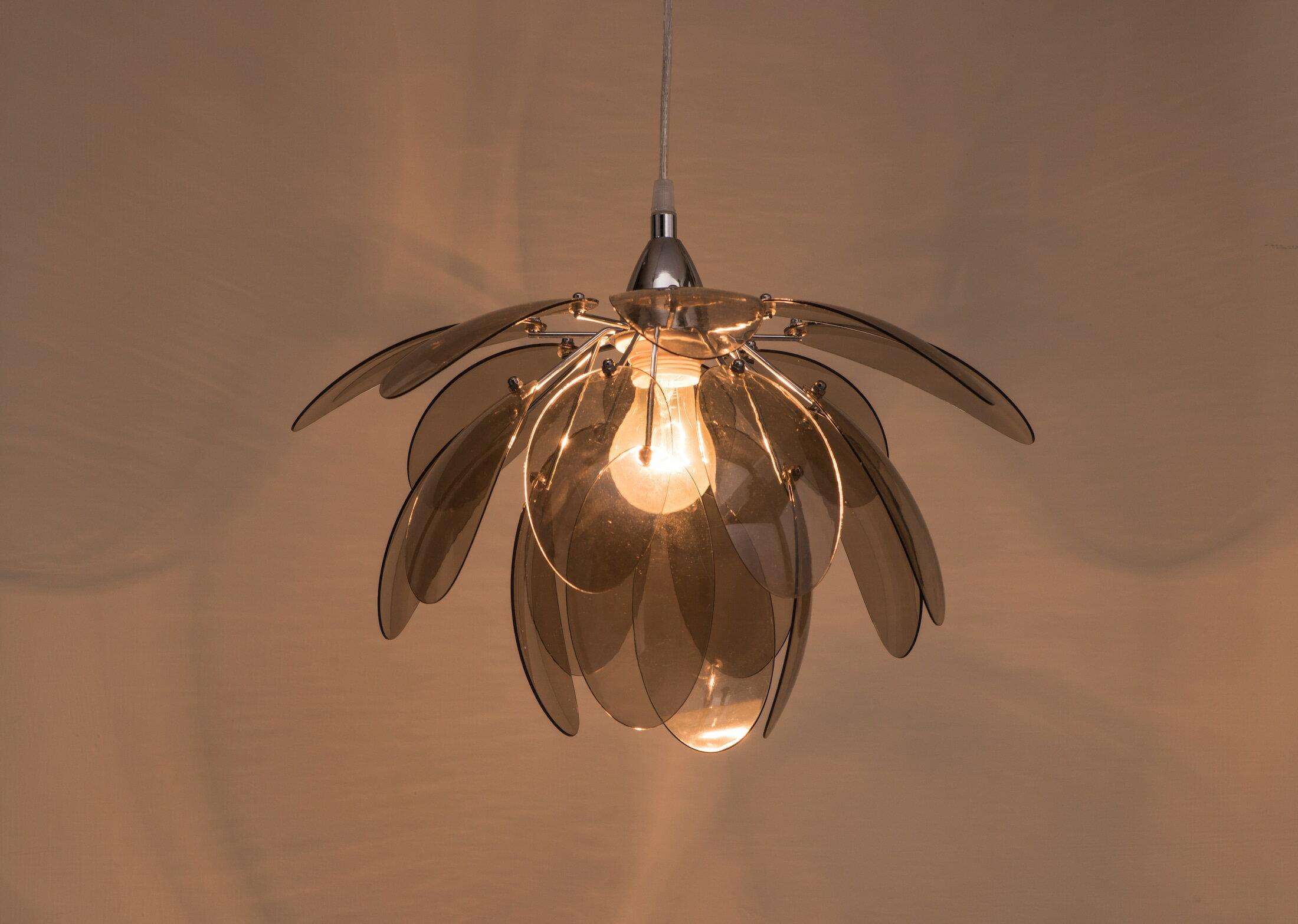 煙灰色壓克力花瓣吊燈-BNL00055 2