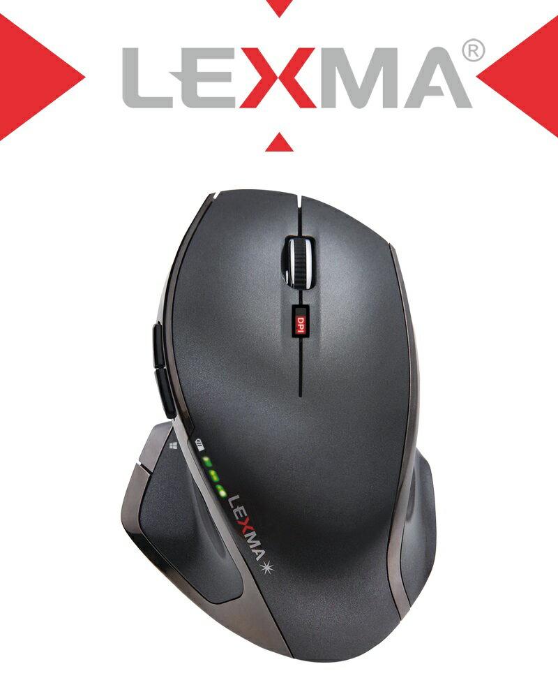☆宏華資訊廣場☆LEXMA M850R無線藍光滑鼠 三年保固,原廠到府收送