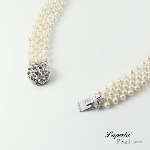 大東山珠寶 晚宴珠寶 天然珍珠項鍊 歐美古典編織珠寶 3
