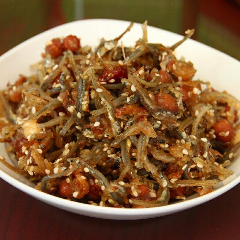 干貝醬小魚乾(小辣)300g