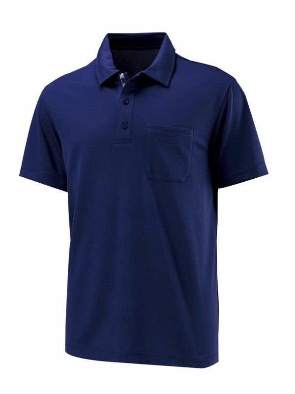 【【蘋果戶外】】荒野 W1622-72 藍色 WildLand 男 疏水紗素色短袖POLO衫 吸濕排汗 運動上衣 休閒 運動 快乾透氣 輕薄舒適 大尺碼