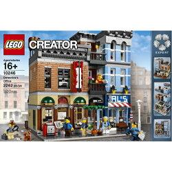 樂高積木LEGO《 LT10246 》創意大師 Creator 系列 - Detectives Office 偵探事務所