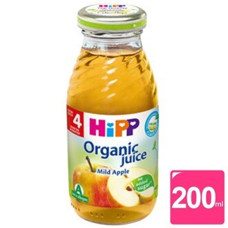 HIPP 喜寶有機蘋果汁 200ml【六甲媽咪】