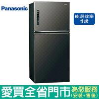 (1級能效)Panasonic國際650L雙門變頻冰箱NR-B659TV-K(星空黑)含配送到府+標準安裝【愛買】 0