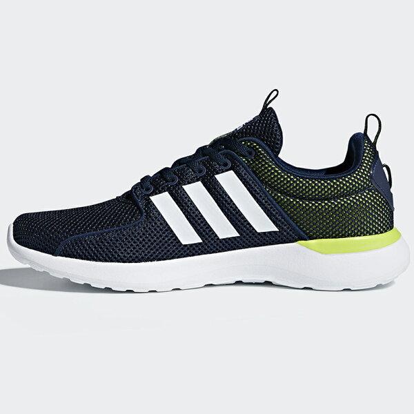 AdidasCFLiteRacer男鞋慢跑休閒緩震抗菌鞋墊藍綠白【運動世界】DB0591