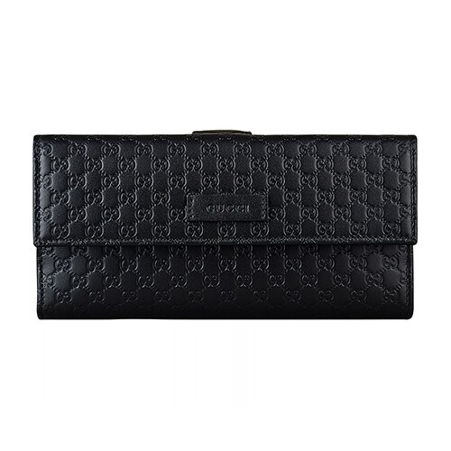 Gucci GUCCISSIMA壓紋LOGO長夾 (現貨+預購) 0