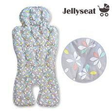 JellypillowJellyseat多功能嬰兒涼感UP嬰兒果凍涼墊-銀色映像Silvershooting★衛立兒生活館★