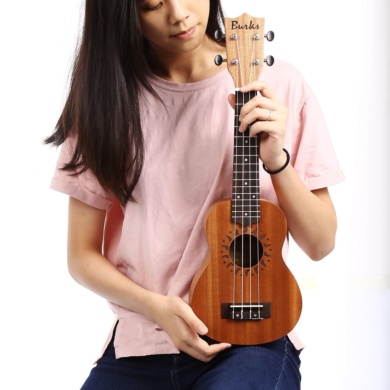 21inch Guitar Soprano Ukulele Musical Instrument 4