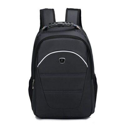 後背包純色電腦包-旅行大容量商務休閒男雙肩包5色73ru15【獨家進口】【米蘭精品】