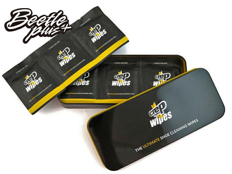 BEETLE CREP PROTECT WIPES 鐵盒 濕紙巾 擦拭布 球鞋 快速 去汙 護理 清潔 擦鞋 JM-18 - 限時優惠好康折扣