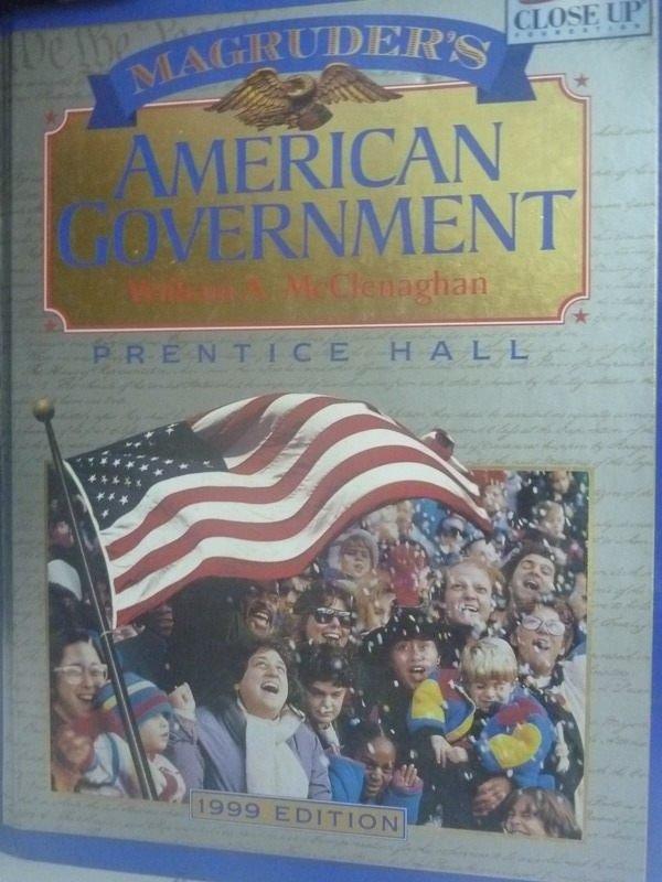 【書寶二手書T5/大學社科_YHX】1999 Magruders American