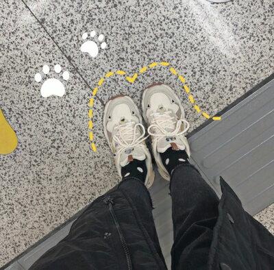 老爹鞋女 老爹鞋女ins潮鞋子女ins潮春季女鞋運動女鞋新款 春季貓爪鞋『XY1833』