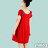 【Milida,全店七折免運】-早春商品-公主袖-舒適寬版洋裝 4