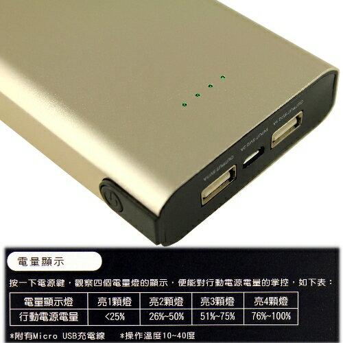 KooPin 鋁合金大容量智慧行動電源 台灣製K7-15000