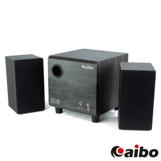 【迪特軍3C】aibo S388 三件式 2.1聲道 木質USB多媒體喇叭 (LY-ENLA388) 電腦喇叭