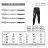 AREXSPORT機能收納男收腹彈力吸排高腰緊身運動褲 AS-7157 黑 S~2L (健身 / 健走 / 戶外休閒 / 重訓 / 瑜珈) 9