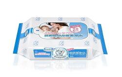 貝恩 Baan NEW嬰兒保養柔濕巾20抽×3包/無香料【紫貝殼】