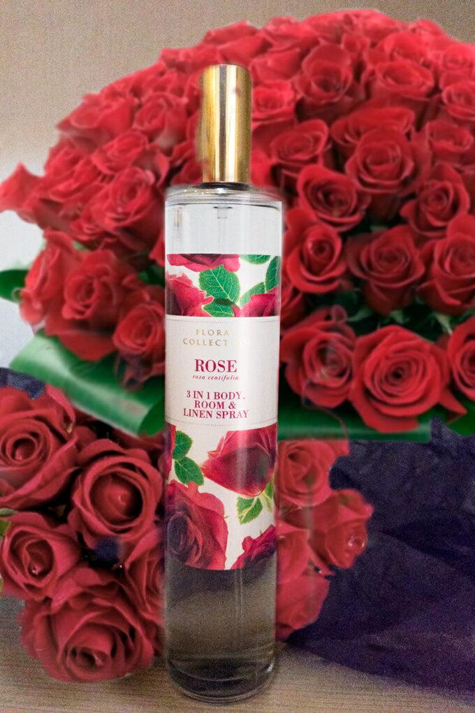 英國馬莎 Marks & Spencer 三合一香水噴霧(玫瑰花)