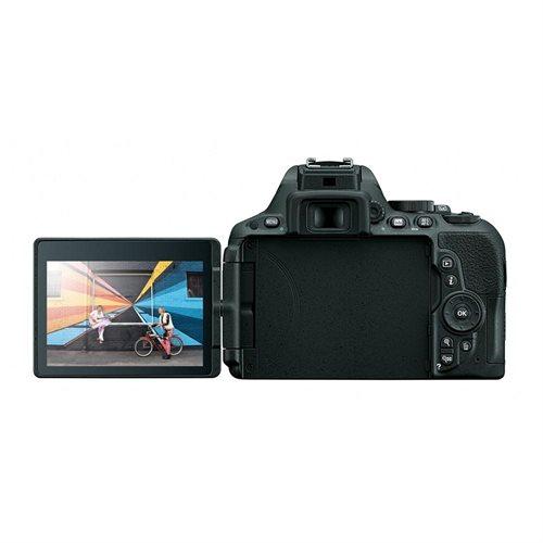 "Nikon D5500 24.2 Megapixel Digital SLR Camera with Lens International Version - 18 mm - 140 mm - 3.2"" Touchscreen LCD - 16:9 - 7.8x Optical Zoom - i-TTL - 6000 x 4000 Image - 1920 x 1080 Video - HDMI - PictBridge - HD Movie Mode - Wireless LAN 2"
