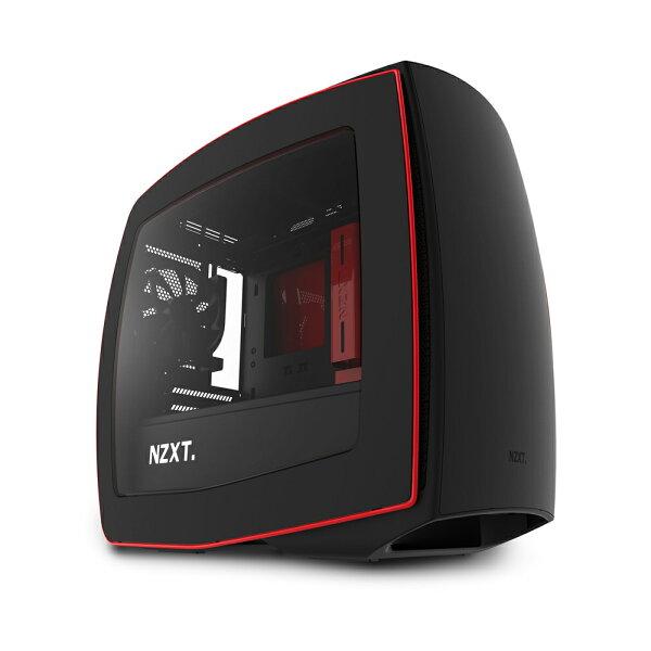 迪特軍3C:【迪特軍3C】NZXT電腦機殼Manta曼塔機殼-亞黑紅