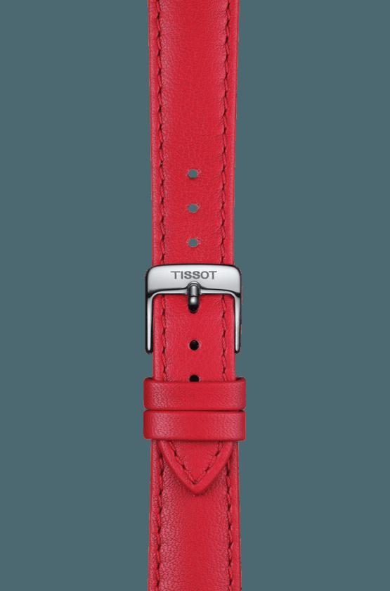 TISSOT 天梭 T1032101601800 BELLA ORA 皮帶石英女腕錶 38mm 4