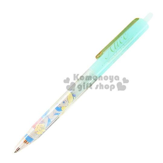〔小禮堂〕迪士尼 愛麗絲 日製自動鉛筆~淺藍.玫瑰.0.5mm~