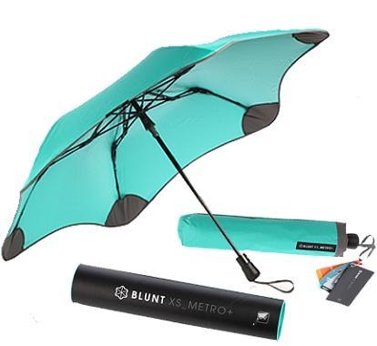 [ BLUNT ] 保蘭特抗風雨傘/自動傘/折傘 紐西蘭 XS_Metro UV+ 抗UV美人傘 蒂芬妮綠