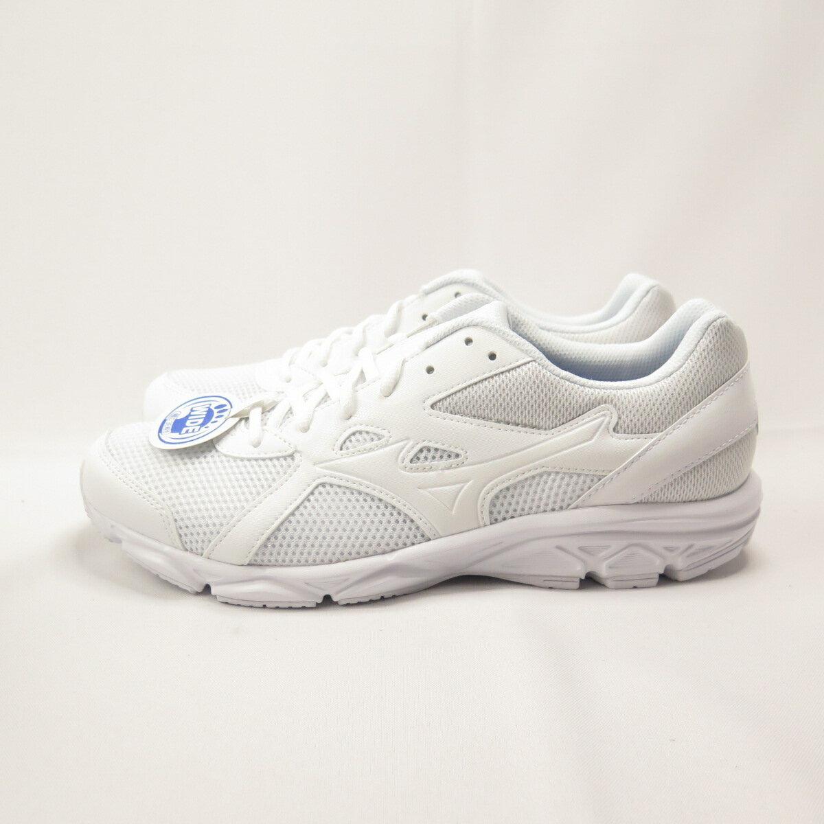 MIZUNO MAXIMIZER 22 慢跑鞋 3E寬楦 K1GA200201 男款 全白【iSport愛運動】
