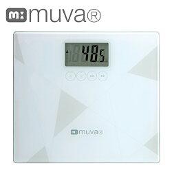 muva muva健康幾何學bmi電子體重計sa5403wh