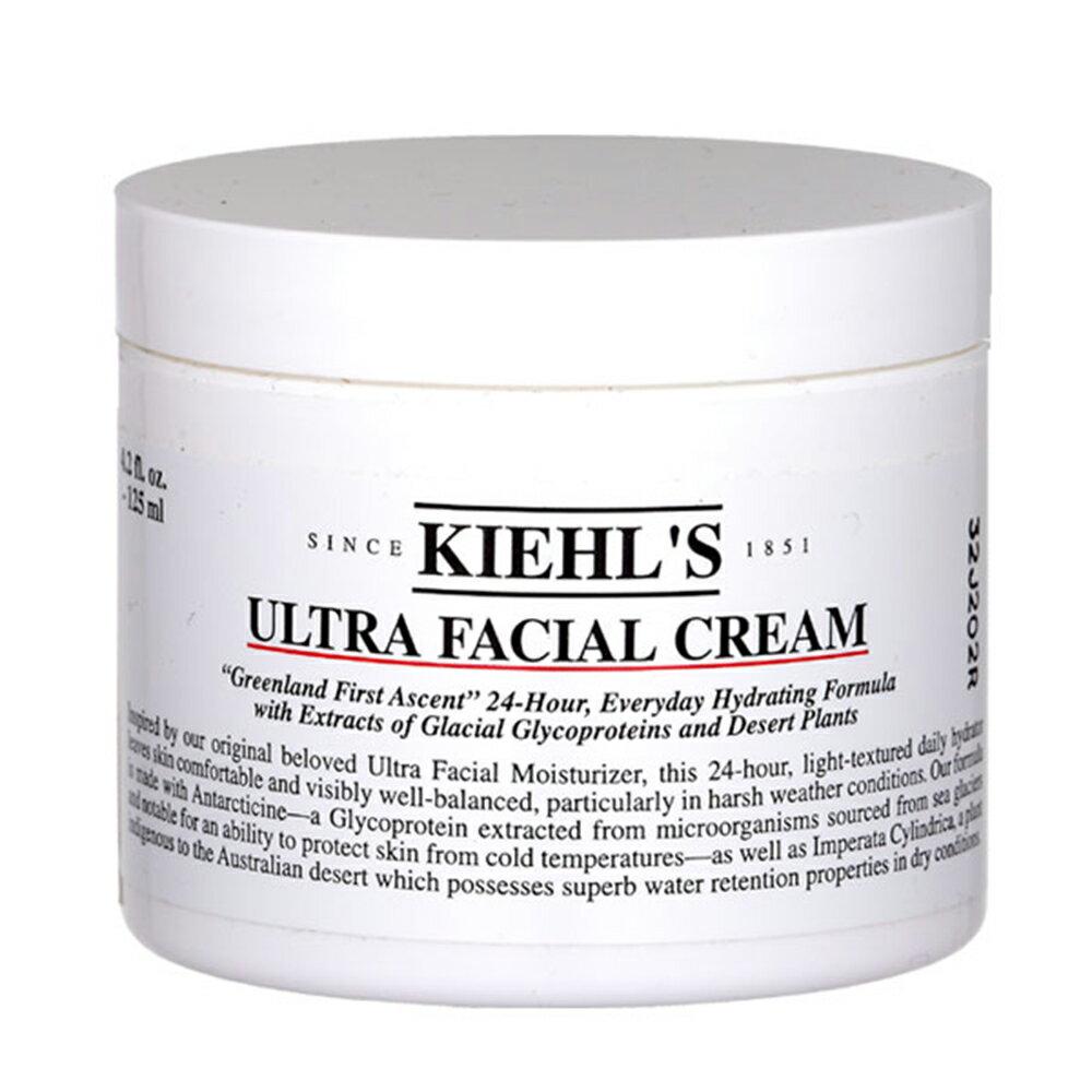 《雙12 SUPER SALE整點特賣12 / 04(三) 10:00開搶》契爾氏KIEHI'S冰河醣蛋白保濕霜125ML Ultra Facial Cream125ML(無外包裝盒) 0