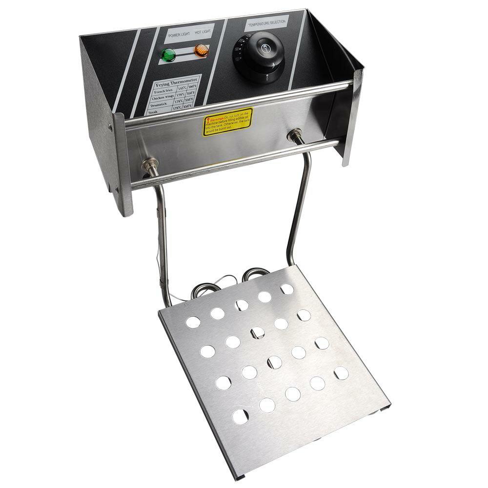 12L Electric Dual Tank Deep Fryer 5000W Commercial Restaurant Kitchen Countertop Equitment 2