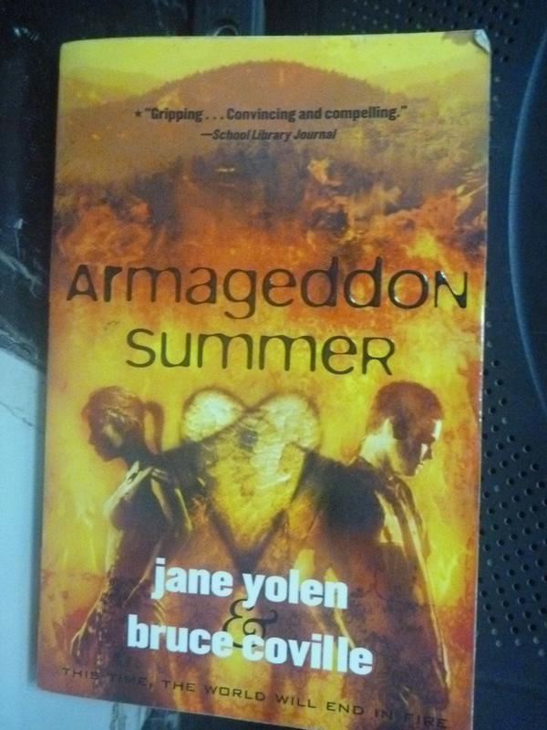 【書寶二手書T2/原文小說_HSO】Armageddon Summer_Jane Yolen, Bruce Covill