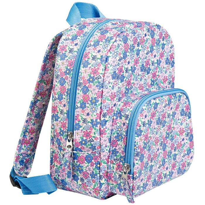 【HELLA 媽咪寶貝】英國 JoJo Maman BeBe 防潑水小背包 繽紛花園 (JJBP-04)