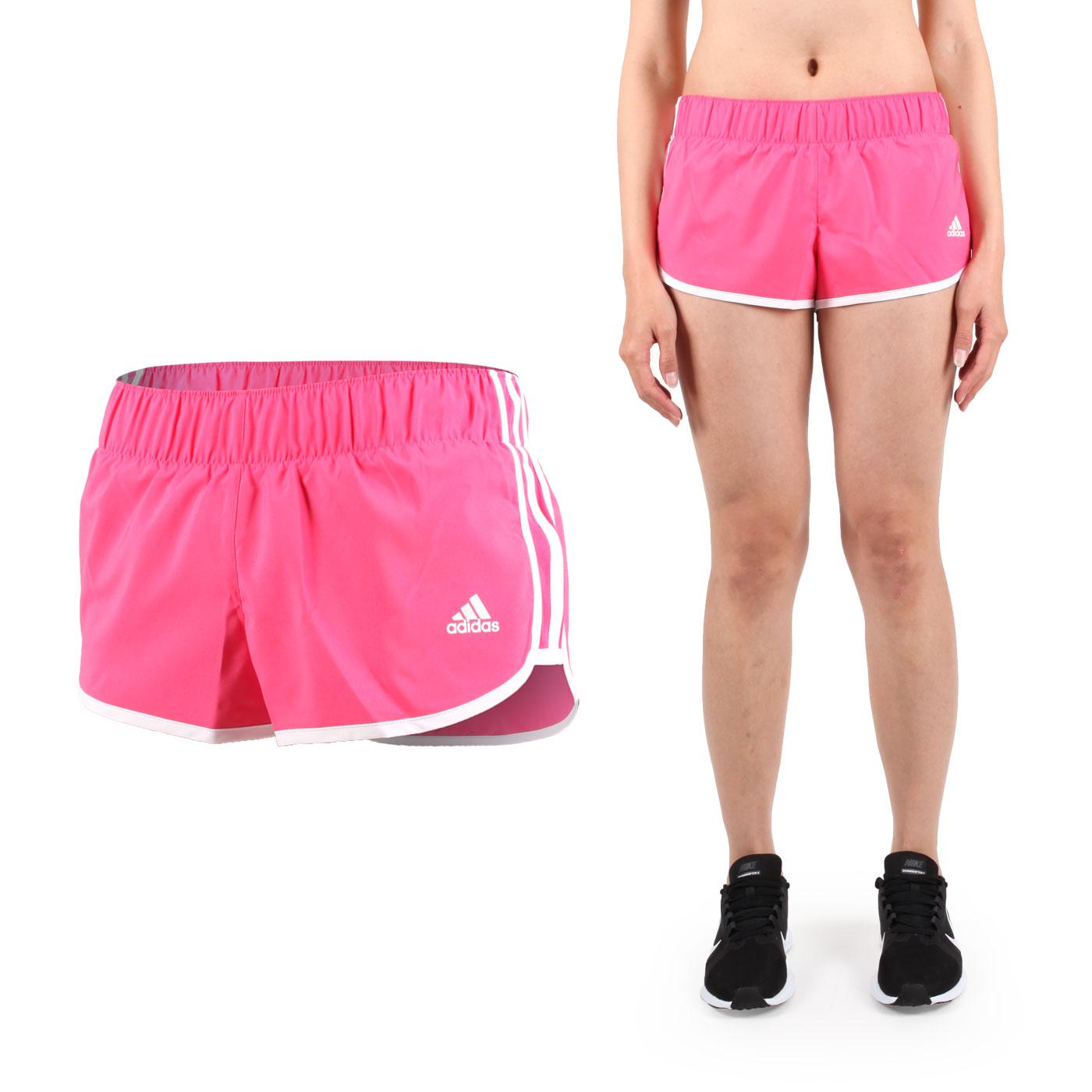 ADIDAS 女運動短褲 (慢跑 路跑 訓練 三分褲 愛迪達【04351402】≡排汗專家≡