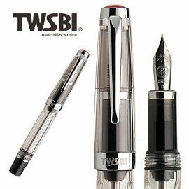 臺灣 TWSBI 三文堂 VAC mini 透黑筆桿負壓上墨鋼筆   支