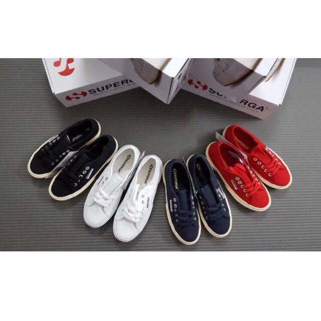 【SUPERGA】義大利國民鞋-白 Cotu - Classic2750 7