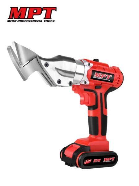 MPT電動剪刀鐵皮剪裁布手持式裁剪機充電式工業金鋼網鋰電電剪刀