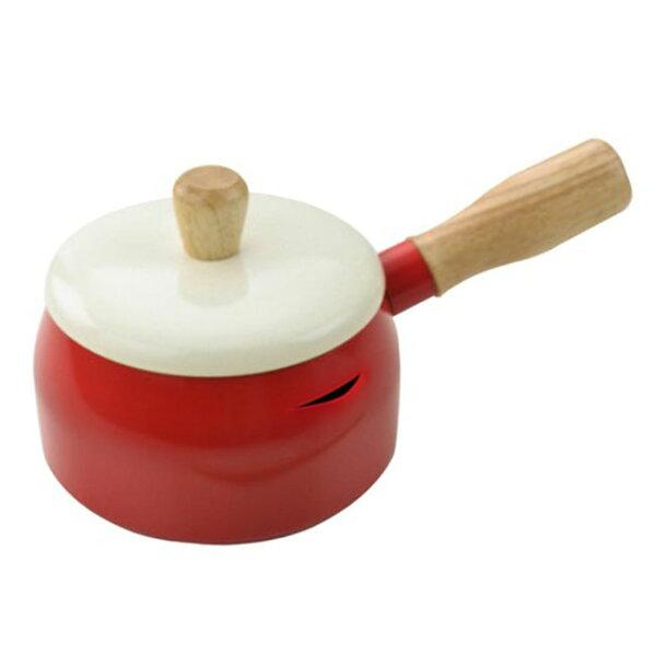 【晨光】多用途牛奶鍋14cm紅色天空藍(440366)【現貨】