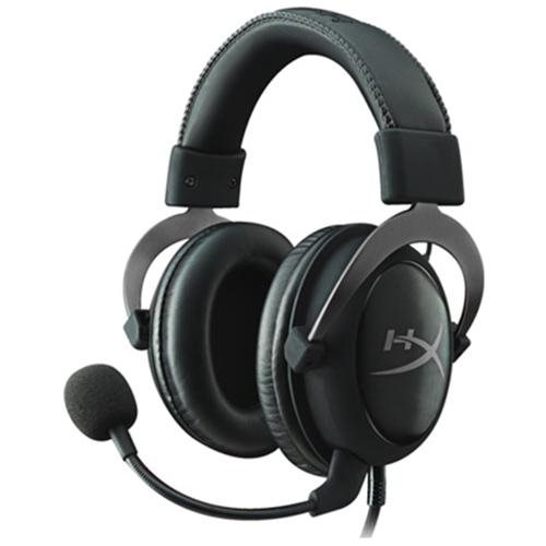 HyperX Cloud II Gaming Headset with 7.1 Virtual Surround Sound for PC/PS4/Mac/Mobile - Gun Metal 0