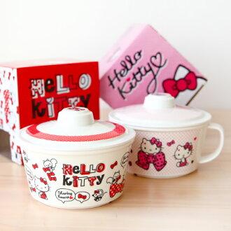 正版 Hello Kitty杯麵碗 泡麵碗 碗公 湯碗 凱蒂貓 KT【N201127】