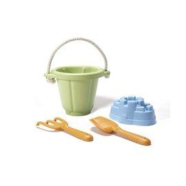 【淘氣寶寶】【美國greentoys感統玩具】沙堡寶沙雕組【檢驗符合最高安全標準/沒有外部塗料,保證無毒】