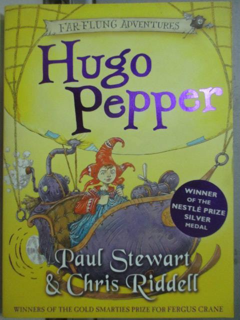 ~書寶 書T2/兒童文學_JNJ~Hugo Pepper_Paul Stewart