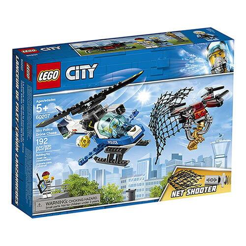樂高LEGO 60207 City-Police 城市警察系列 - 航警無人機追擊 - 限時優惠好康折扣