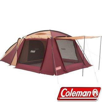 Coleman 美國 | 勃根地一房一廳露營帳棚  | 秀山莊(CM-28267)