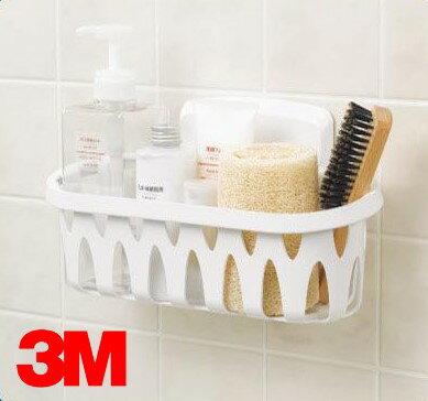 3M 17624B 無痕浴室收納系列【置物籃】