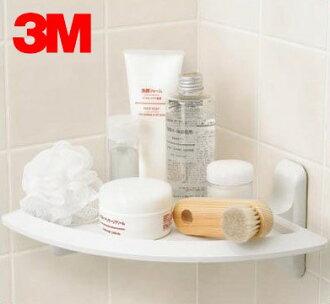 3M 17627B 無痕浴室收納系列【三角架】